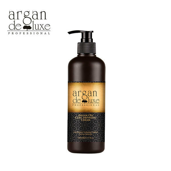 Argan Oil Curl Defining Cream by Argan Deluxe, 8.11 Oz./240