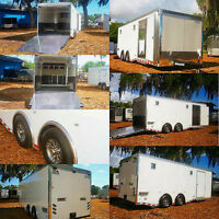 CARGO, ENCLOSED, UTILITY, LANDSCAPE TRAILERS