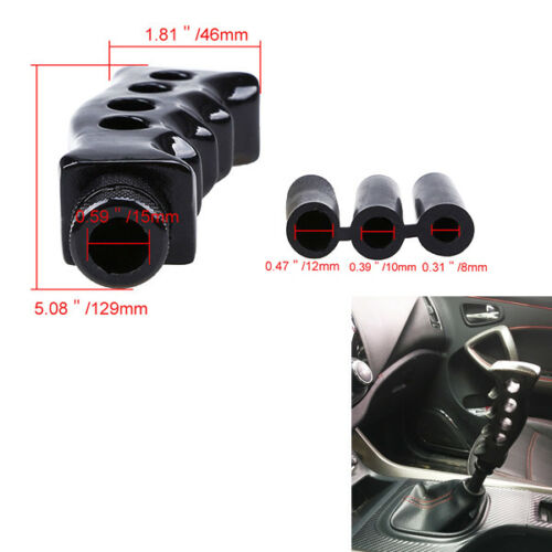 Black Grip Knife Handle Manual Transmission Car Gear Knob Shifter On Sale