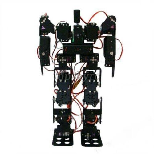 Humanoid bipedal walking robot needing guidance