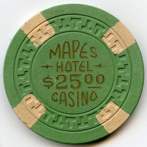 Mapes Hotel/Casino -Reno - $25 Chip -1954