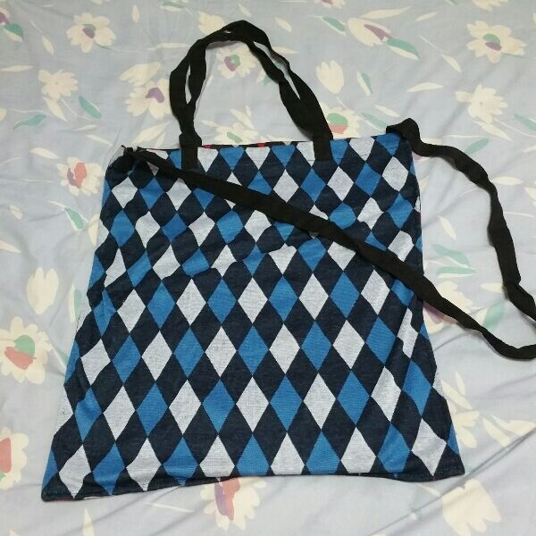 BN Fabric Bag 2 Sided Use Men Ladies
