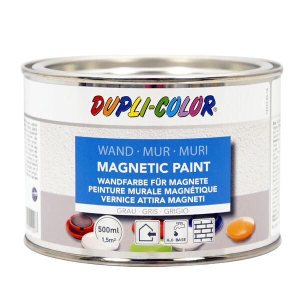 Magnetic Paint Streichlack 0,5 l grau 120077 Dupli Color Wandfarbe für Magnete
