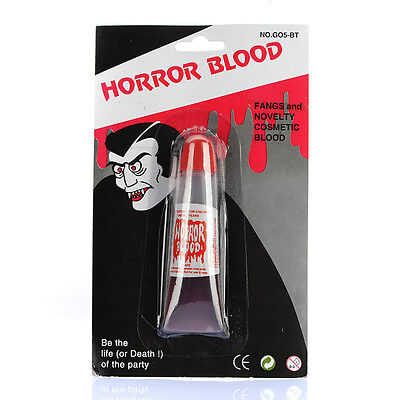 Sangre falsa ideal para Halloween disfraces maquillaje fiestas realista