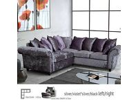 *SALE* BRAND NEW FACTORY SEALED - CASHMERE CORNER SUITE or 3+2 SOFA £499.99