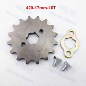 Wanted : 420 sprocket 16 tooth and 428 -17