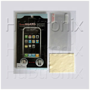 3x clear screen guard protector for Apple iPhone 3G 3GS