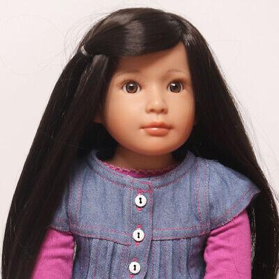 "Roxie, Rainy Day - An 18"" Medium Skin Tone, Vinyl Jointed Doll by Kidz 'n' Cats"
