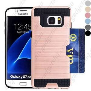 Card Brushed Case Cover Protective Back Case for Samsung Galaxy Brisbane City Brisbane North West Preview
