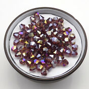 100pcs 4mm Swarovski Crystal #5301 Bicone Beads