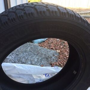 Used Snow Tires 205 55 16 in Great Condition Cambridge Kitchener Area image 2