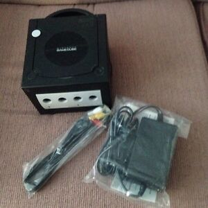 GameCube with brand new cables!