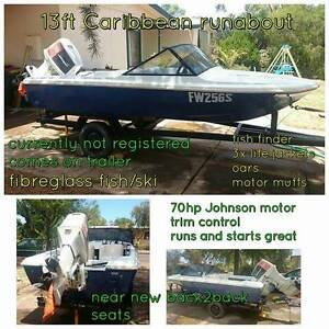 Ski/fish boat Crystal Brook Port Pirie City Preview