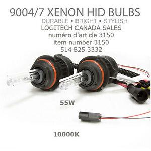 9004 HB1 9007 HB5 Bi-Xenon HID Head Light Bulbs High/Low