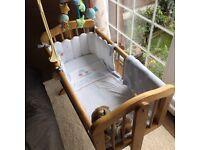 Crib bedding and mobile