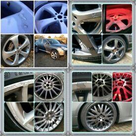 Mobile Alloy Wheel Refurbishment Service