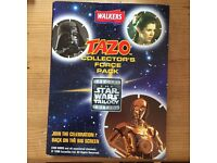 Star Wars trilogy Tazo collection