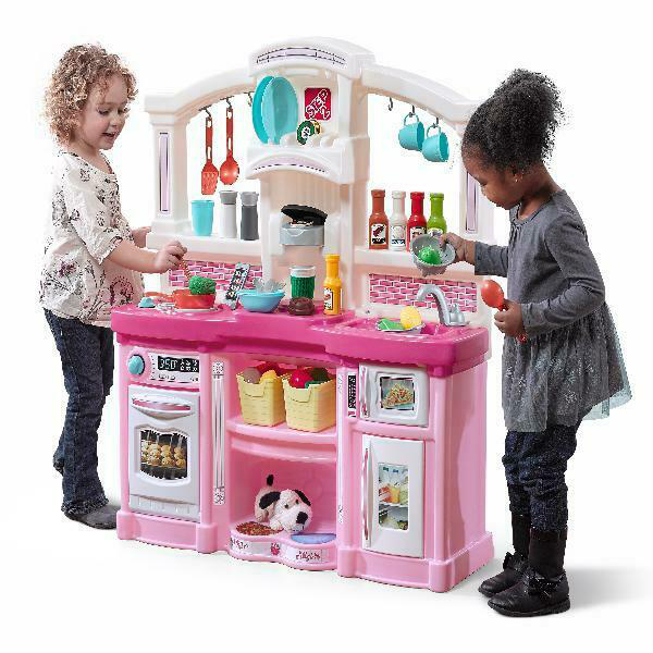 Step2 Fun with Friends Play Kitchen with 24 Piece Accessory