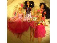Barbie dolls +others £10