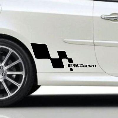 Renault SPORT Clio Megane Sticker Auto Aufkleber Tattoo Decal Decor Jede Farbe, gebraucht gebraucht kaufen  Versand nach Germany