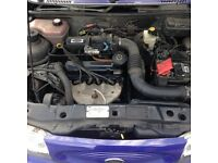 Ford Fiesta flight