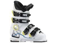 Junior Ski Boots X Max 60 T White SALOMON - Brand New in Box. Size 38 UK5 MP24.0.