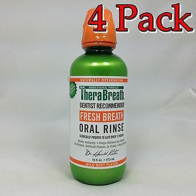 TheraBreath – Fresh Breath Oral Rinse – Dentist Formulat