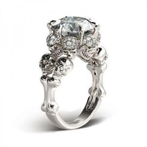 Skull cocktail ring
