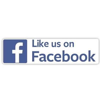 Like Us On Facebook Sticker