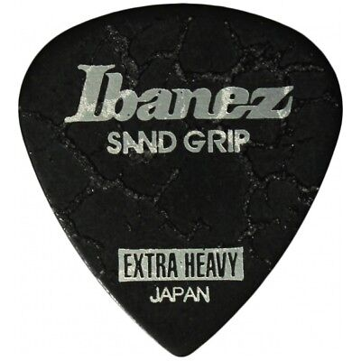 Ibanez Sand Grip Crack Extra Heavy Black Plek Plektrum Plektren Plektron