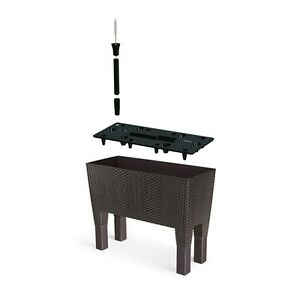 blumenkasten rattan blument pfe k sten ebay. Black Bedroom Furniture Sets. Home Design Ideas
