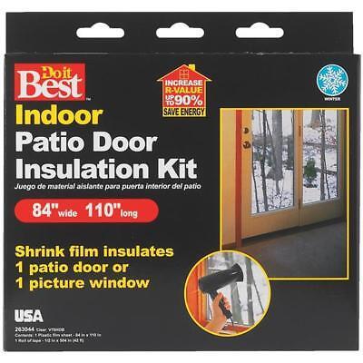 Thermwell Do it Best Heat Shrink Film Window Kit Patio Door - 12 pack Best Heat Shrink Film Window