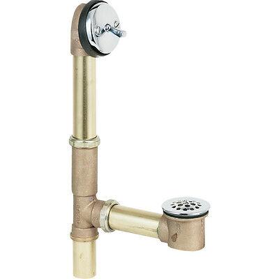 Gerber 41 818 Brass Trip Lever Bath Drain All Tub Drain In Tee EBay