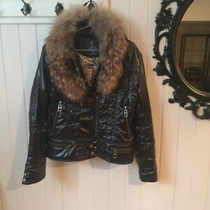 Manteau fourrure véritable Just Cavalli fur coat