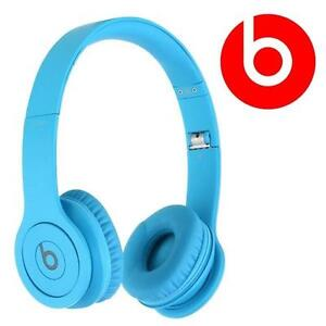 REFURB BEATS SOLO HD HEADPHONES MATTE BLUE - ON-EAR - WIRED SOLOHD 87298606