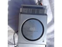 Small stereo system CD/radio