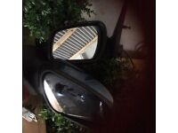Pair of 2006 Ford mondeo door mirrors