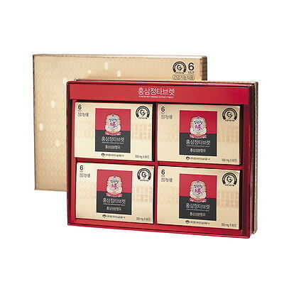 CheongKwanJang 6Yr Old Korean Red Ginseng Extract 240 Tablets Panax Anti-Aging