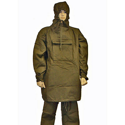 U S  Military Mkiii Nbc Chemical Suit Charcoal Lined Size Small S Nato Hazmat