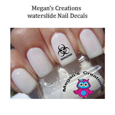 Halloween Nails Zombie (HALLOWEEN Dead Zombie Biohazard Design Nail Art)