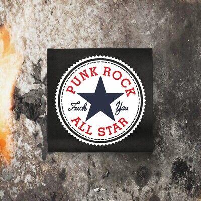 Punkrock All Stars Backpatch / Rücken-Aufnäher 20 x 20 cm