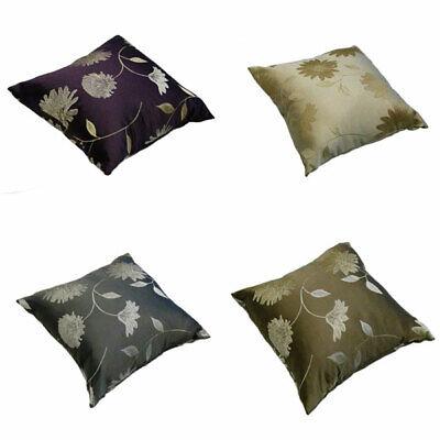 Maison Freya Floral Jacquard Cushion Cover, 43 x 43 Cm