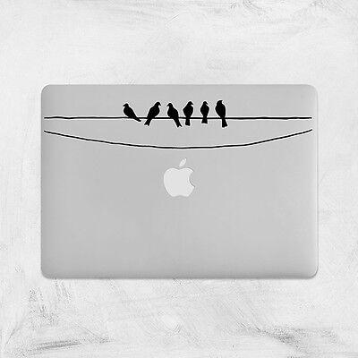 Birds Decal for Macbook Pro Sticker Vinyl Laptop Mac Air Notebook Skin Animal