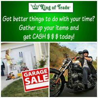 King of Trade! BEFORE you decide to Garage Sale!