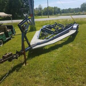 Tandem axel boat trailer