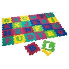 Alphabetical play mats x3 packs £30