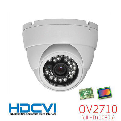 HD-CVI 1080P Turret Eyeball Night Vision CCTV Camera 24Leds 3.6mm 2.1Mega Pixel