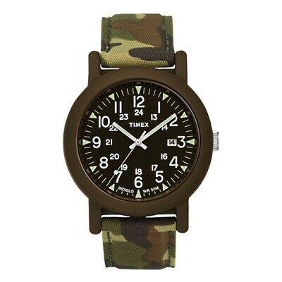 Timex Originals Camper Watch Unisex - Olive Case/Olive Camo Strap New In Case