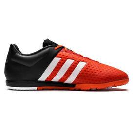 adidas Ace 15.1 Primeknit Cage TF Solar Orange/White/Core Black size UK 9.5