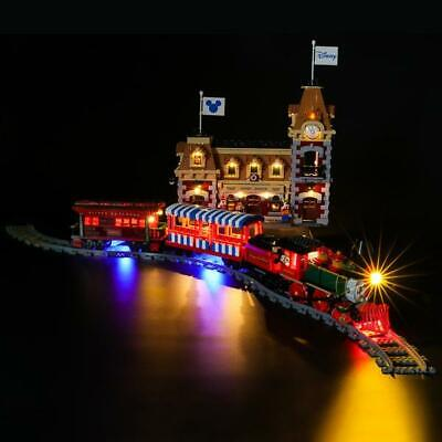 LED Light Kit for Lego 71044 Disney Train and Station , USB and Battery Powered